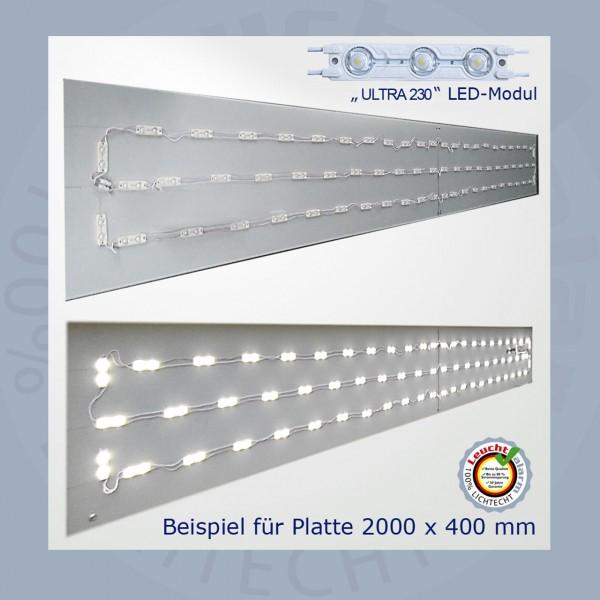 LED P-230 Volt Umrüst Montageplatte
