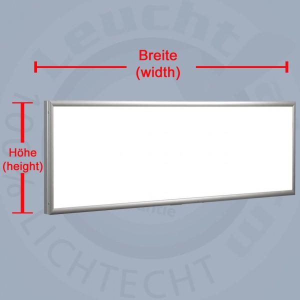 Flat-LED-Leuchtkasten 1-seitig beleuchtet – Kundenrückläufer 3000 x 400