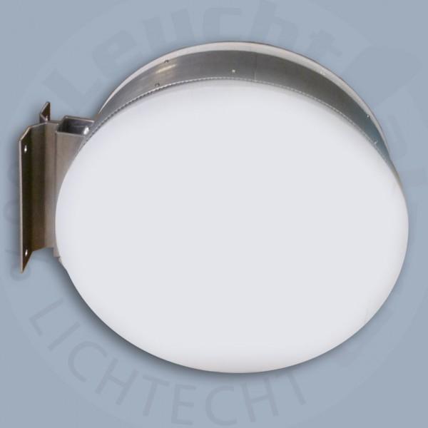Leuchtkasten rund 2-seitig - High End - Tiefe 160 mm