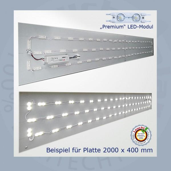 LED Premium Umrüst Montageplatte