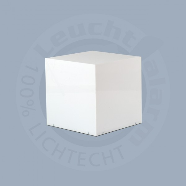 Acrylglas Leuchtwürfel mit LED